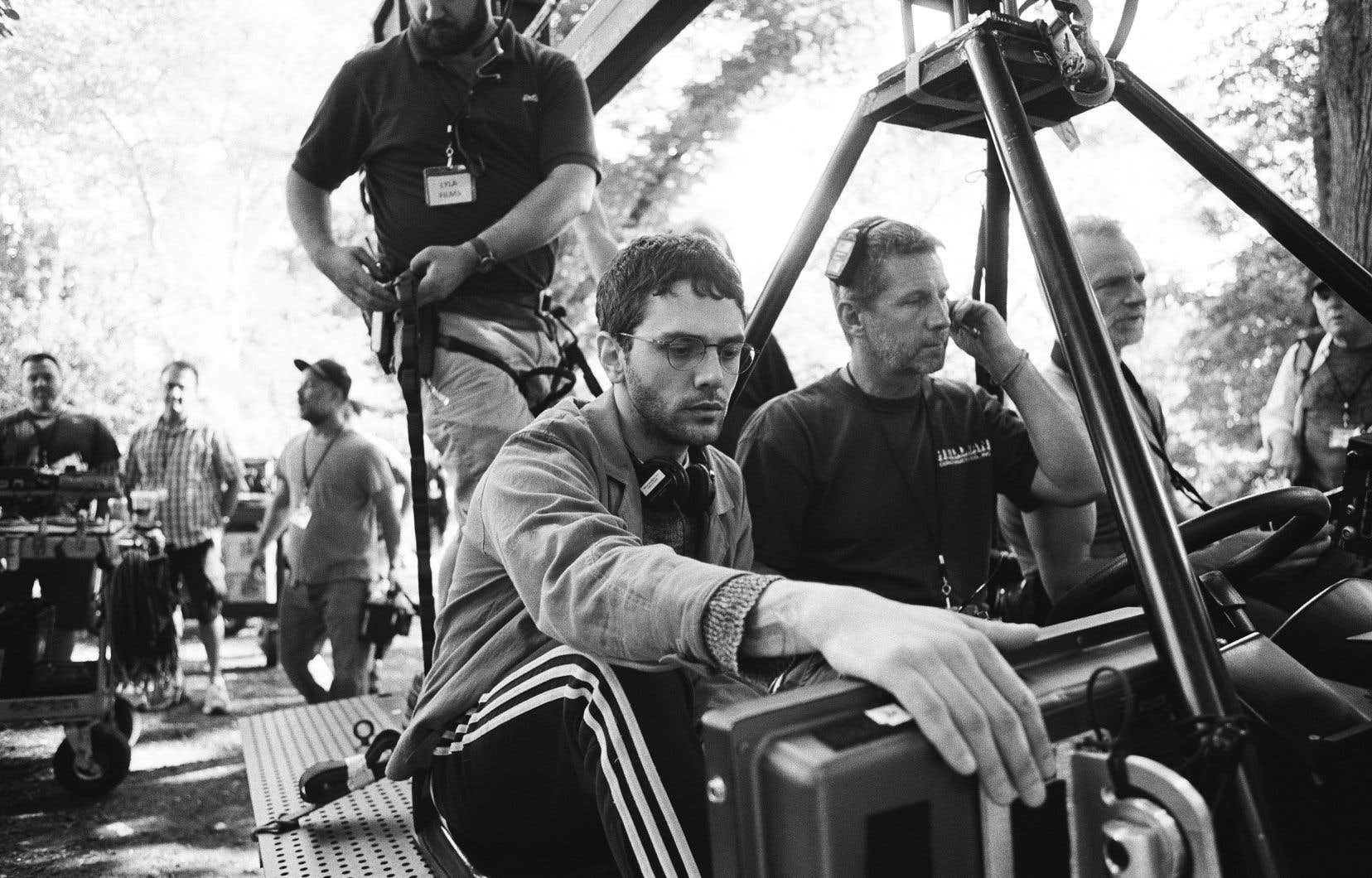 Xavier Dolan sur le tournage de «The Death and Life of John F. Donovan»