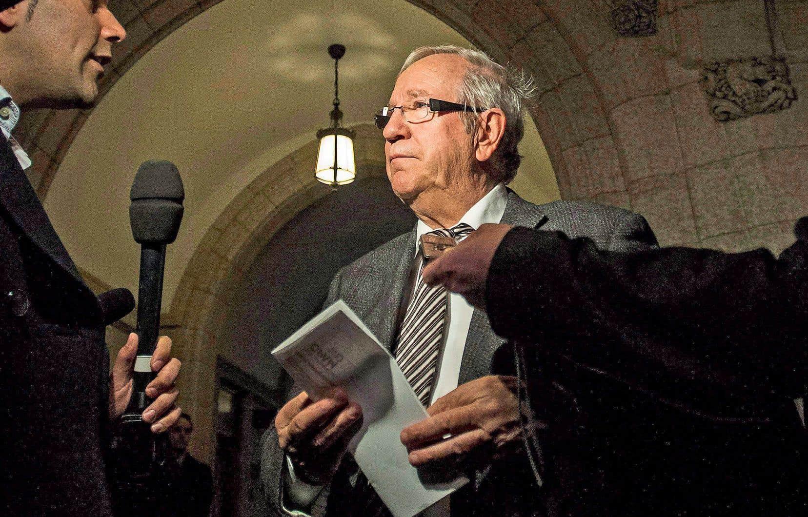 Le doyen des députés du Bloc québécois est au nombre des cinq députés démissionnaires qui non seulement n'ont pas réintégré le parti à la suite du départ de Martine Ouellet, mais ont même formé un nouveau parti, Québec debout.