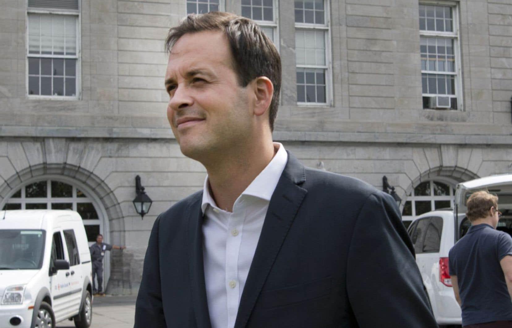 Alexandre Cloutier avait annoncé en janvier dernier qu'il terminerait son mandat de député, mais qu'il n'en solliciterait pas un nouveau.