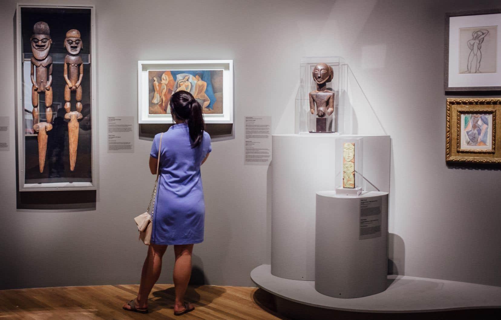 Une exposition sur Picasso est actuellement présentée au Musée des beaux-arts de Montréal.