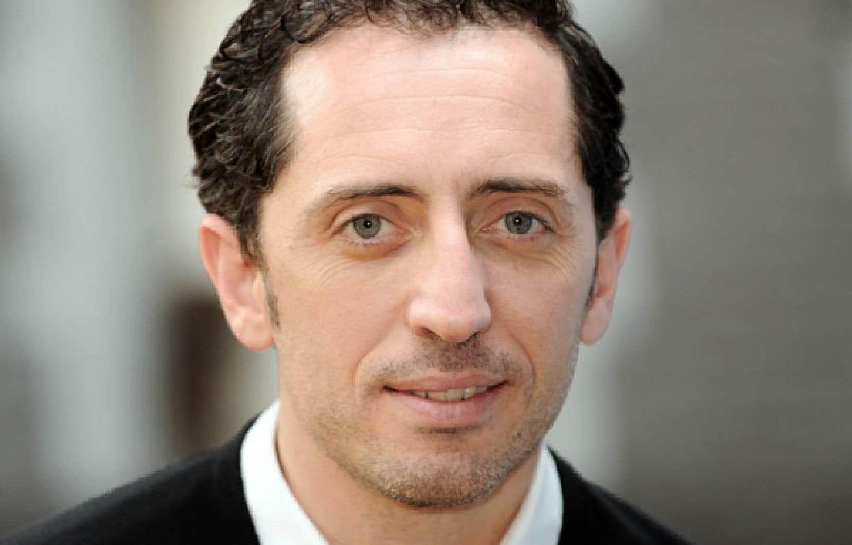 Gad Elmaleh était une des grandes vedettes du festival Séfarad l'an dernier.