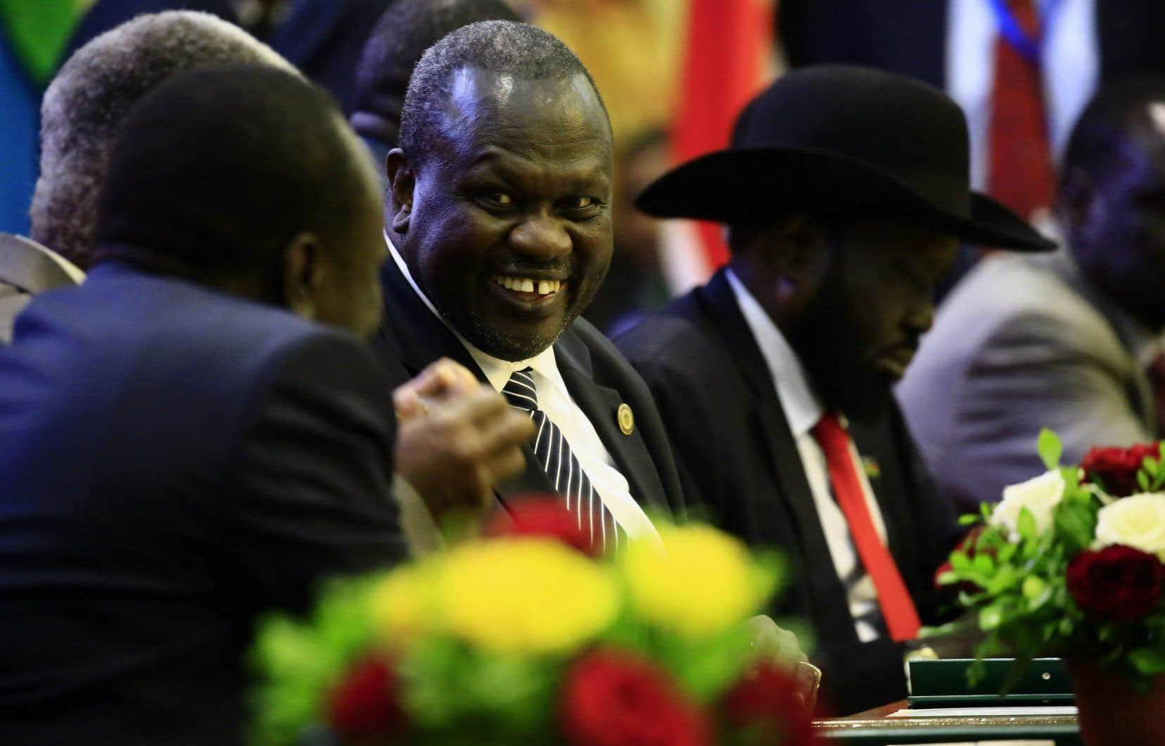Le Soudan du Sud s'est enfoncé dans une guerre civile fin 2013 quand Salva Kiir a accusé son vice-président Riek Machar de fomenter un coup d'État.