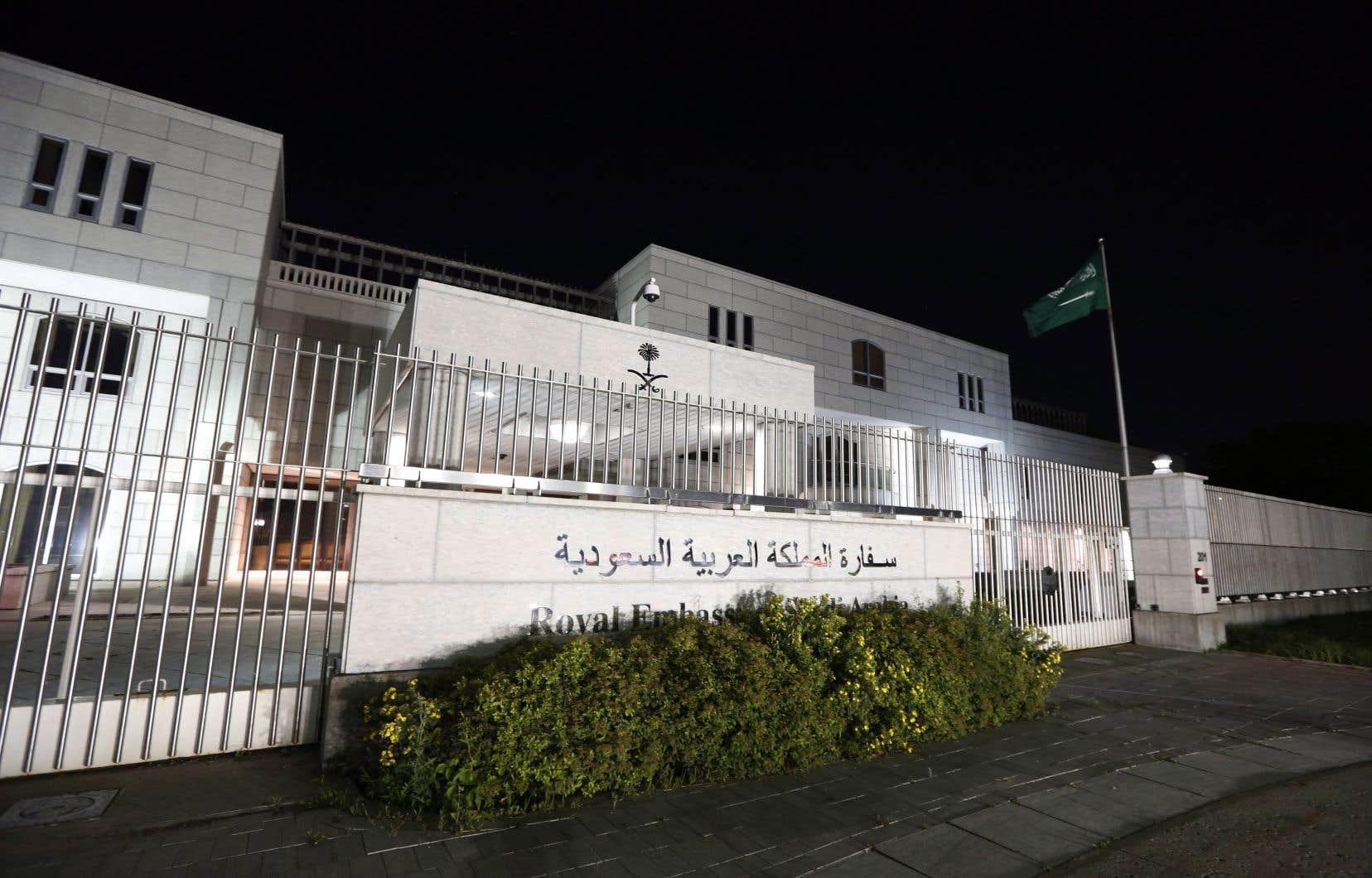 L'ambassade de l'Arabie saoudite à Ottawa