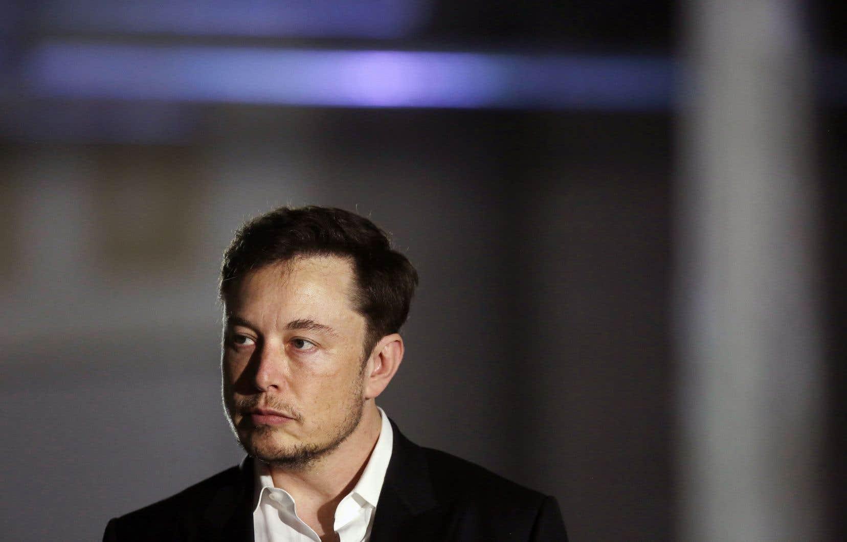 Le p.-d.g. de Tesla, Elon Musk, dit vouloir racheter les actions.