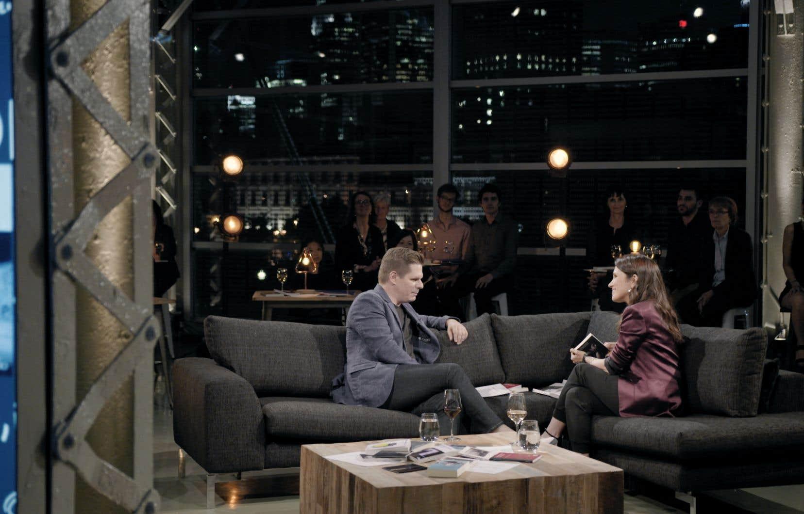 France Beaudoin fera des entrevues avec des personnalités de son choix (sur la photo Patrick Lagacé) dans l'émission «Pour emporter».