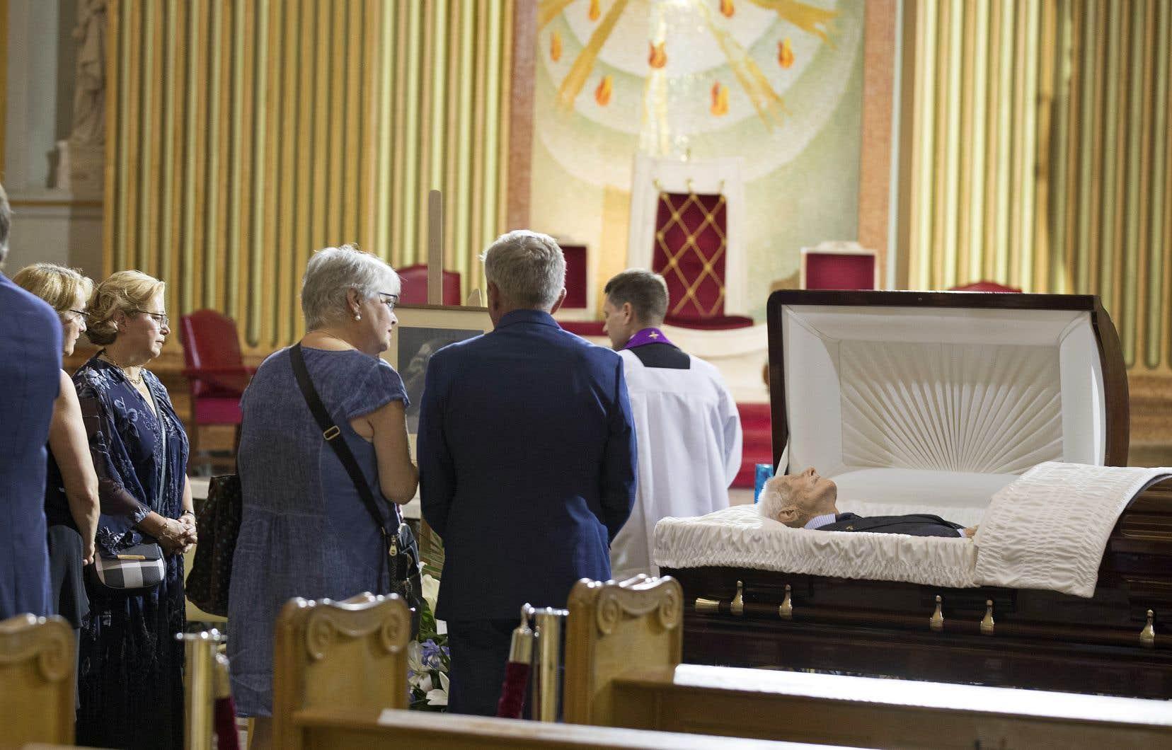 La famille de Paul Gérin-Lajoie a accueilli avec joie les hommages qui lui ont été rendus, autant par des personnalités publiques que de simples citoyens.