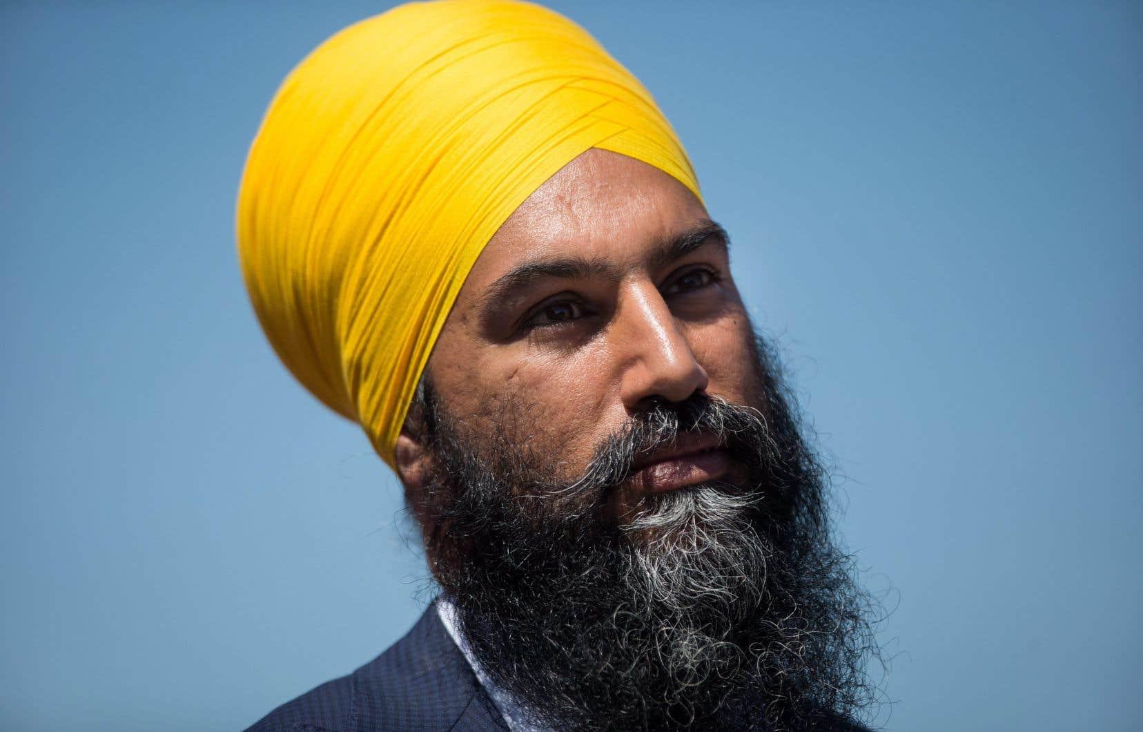Jagmeet Singh a été élu à la tête du Nouveau Parti démocratique il y a dix mois.