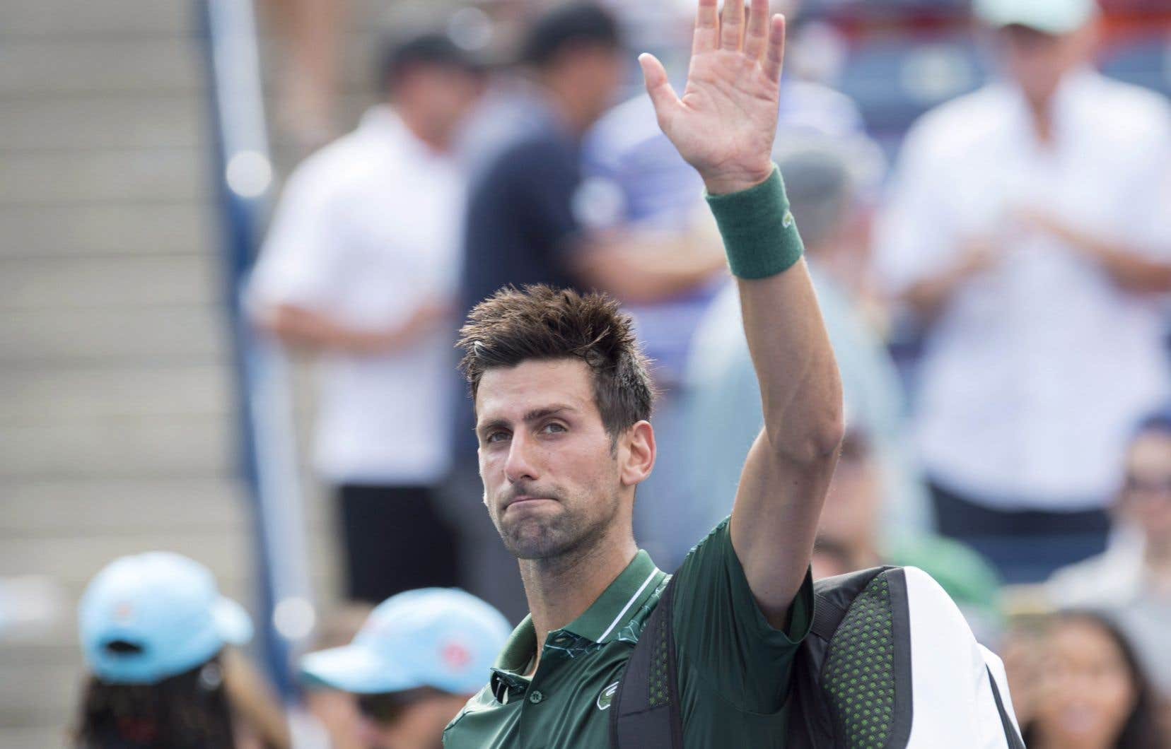 Novak Djokovic a été battu 6-3, 6-7 (5) et 6-3.
