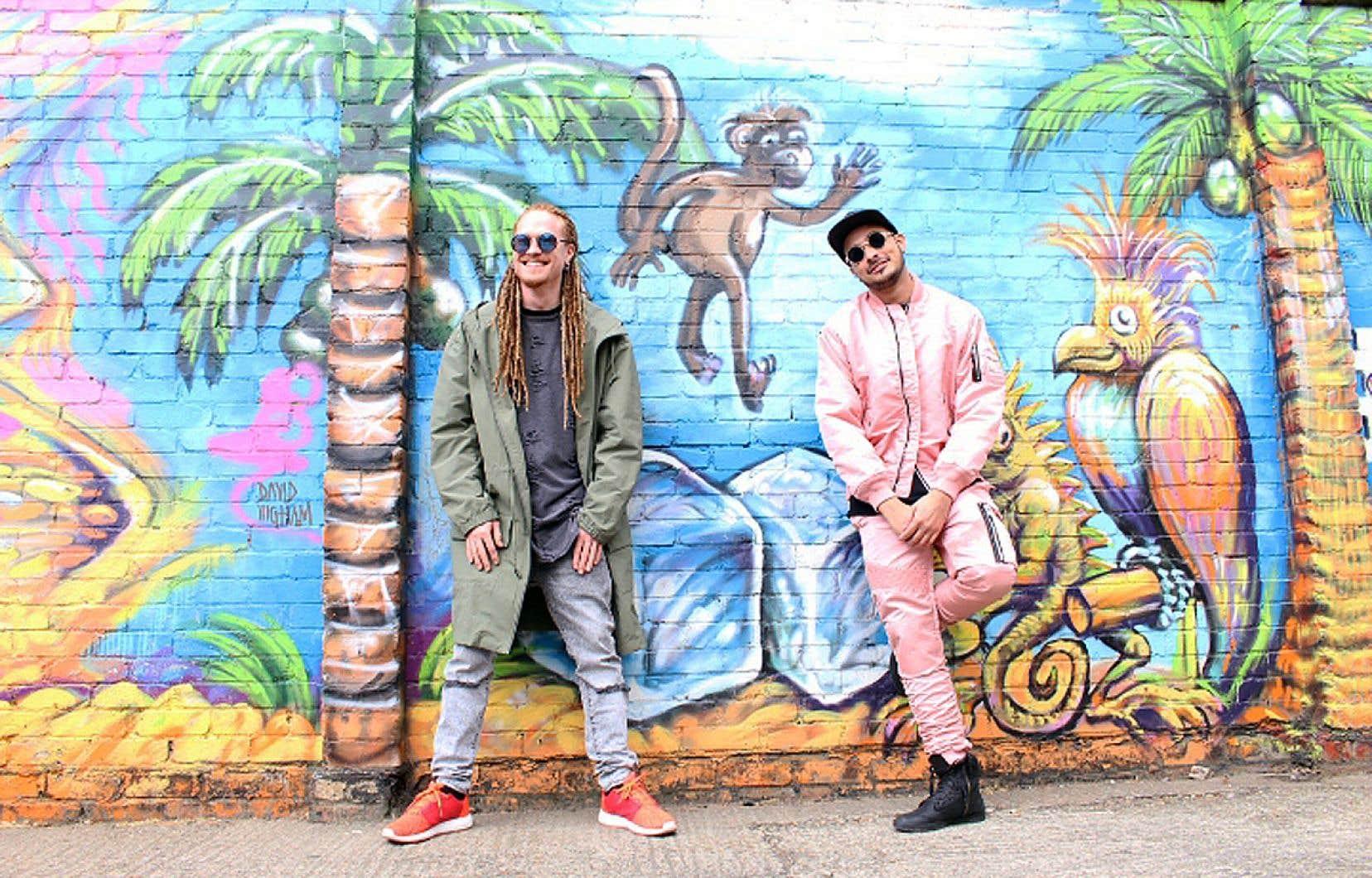 Soké et KNY définissent leur projet comme «une fusion entre les musiques électroniques et les influences caribéennes».