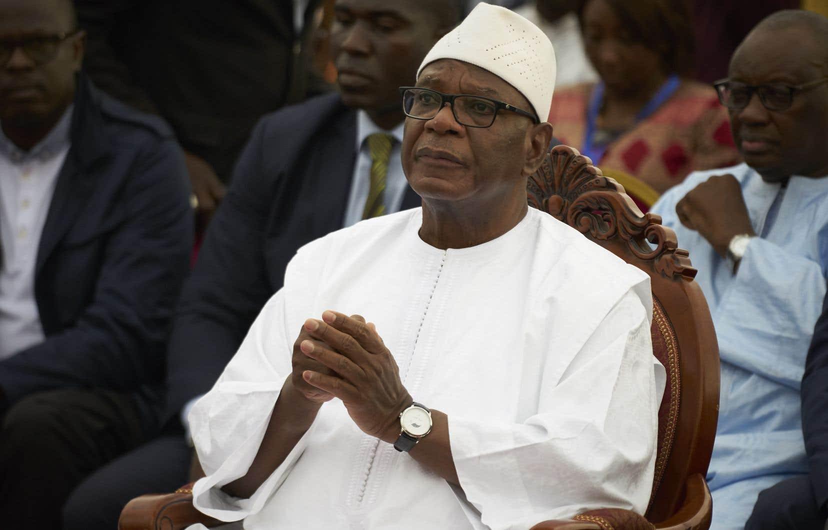 Le président sortant,Ibrahim Boubacar Keïta, dit «IBK», est en position de force face à un candidat de l'opposition isolé, mais convaincu de pouvoir encore l'emporter.