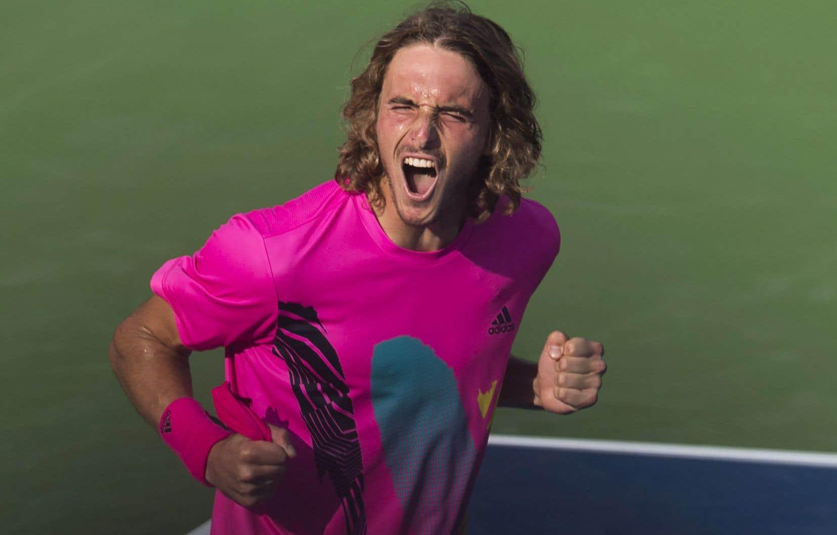 Stéfanos Tsitsipás affrontera en finale dimanche le vainqueur du duel entre Rafael Nadal etKaren Khachanov.