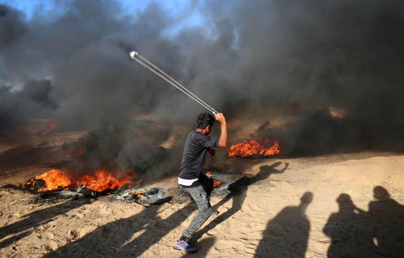 Une fragile trêve a été instaurée jeudi soir par l'entremise de l'Égypte et de l'ONU.