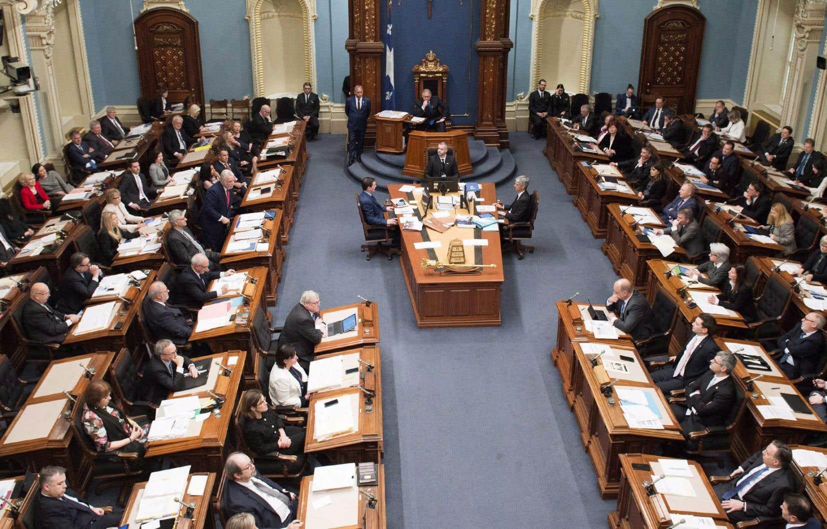 Depuis l'élection d'une première femme à l'Assemblée nationale en 1961 (Marie-Claire Kirkland-Casgrain), il n'y a jamais eu plus de 32% d'élues à Québec.