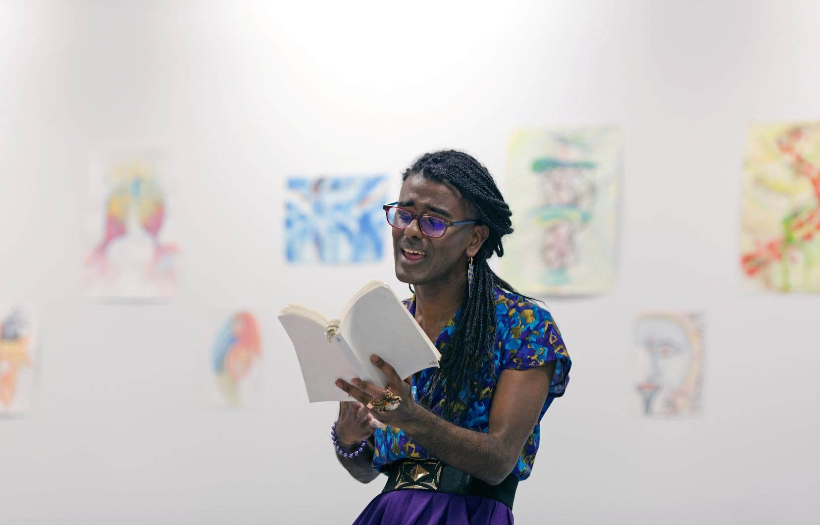 La directrice artistique de l'organisme Nos corps, nos histoires, Kama La Mackerel