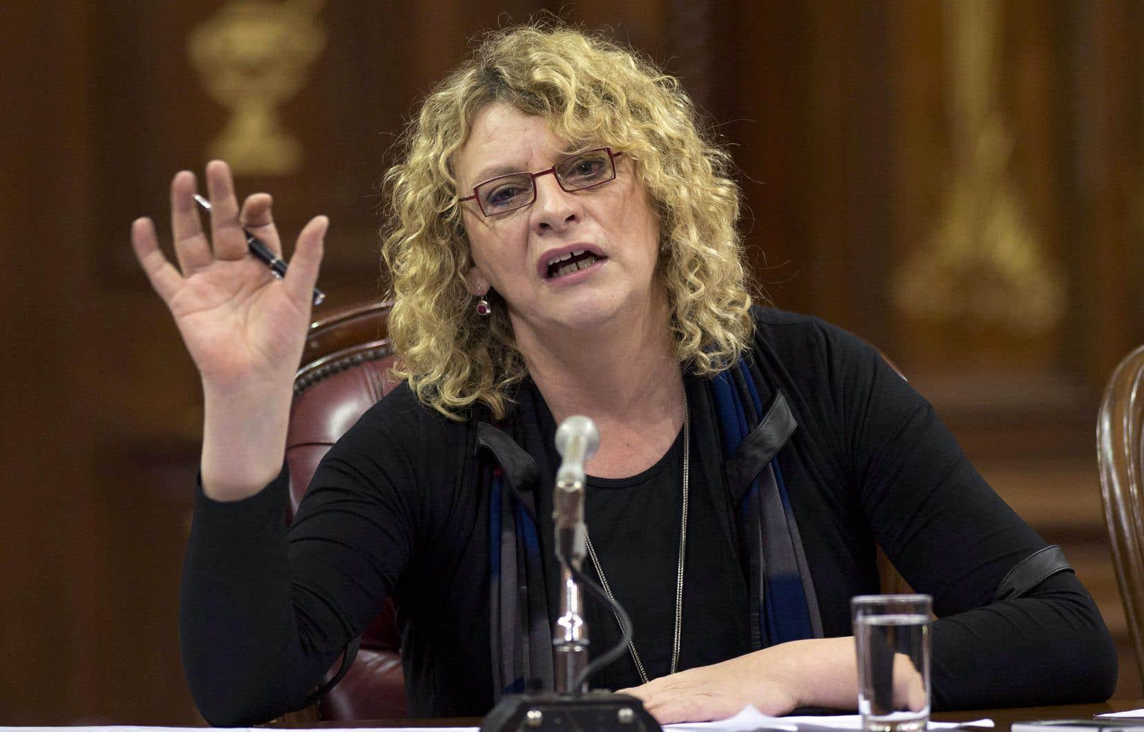 Michelle Blanc se présente pour le Parti québécois dans la circonscription de Mercier.