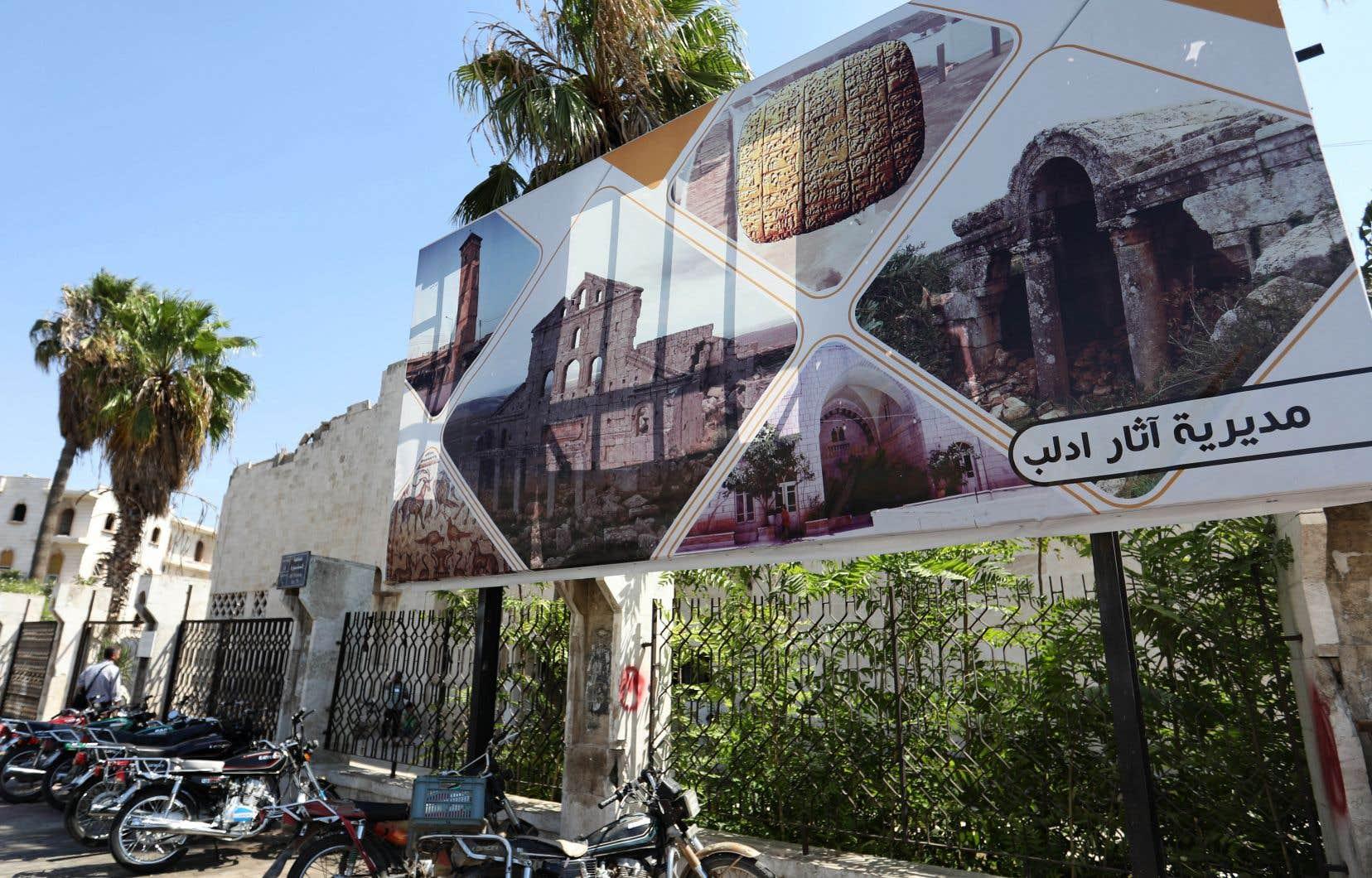 La réouverture de ce musée dans une région toujours en guerre a été lancée par une équipe locale d'académiciens et d'archéologues alors que l'établissement était fermé depuis 2013.