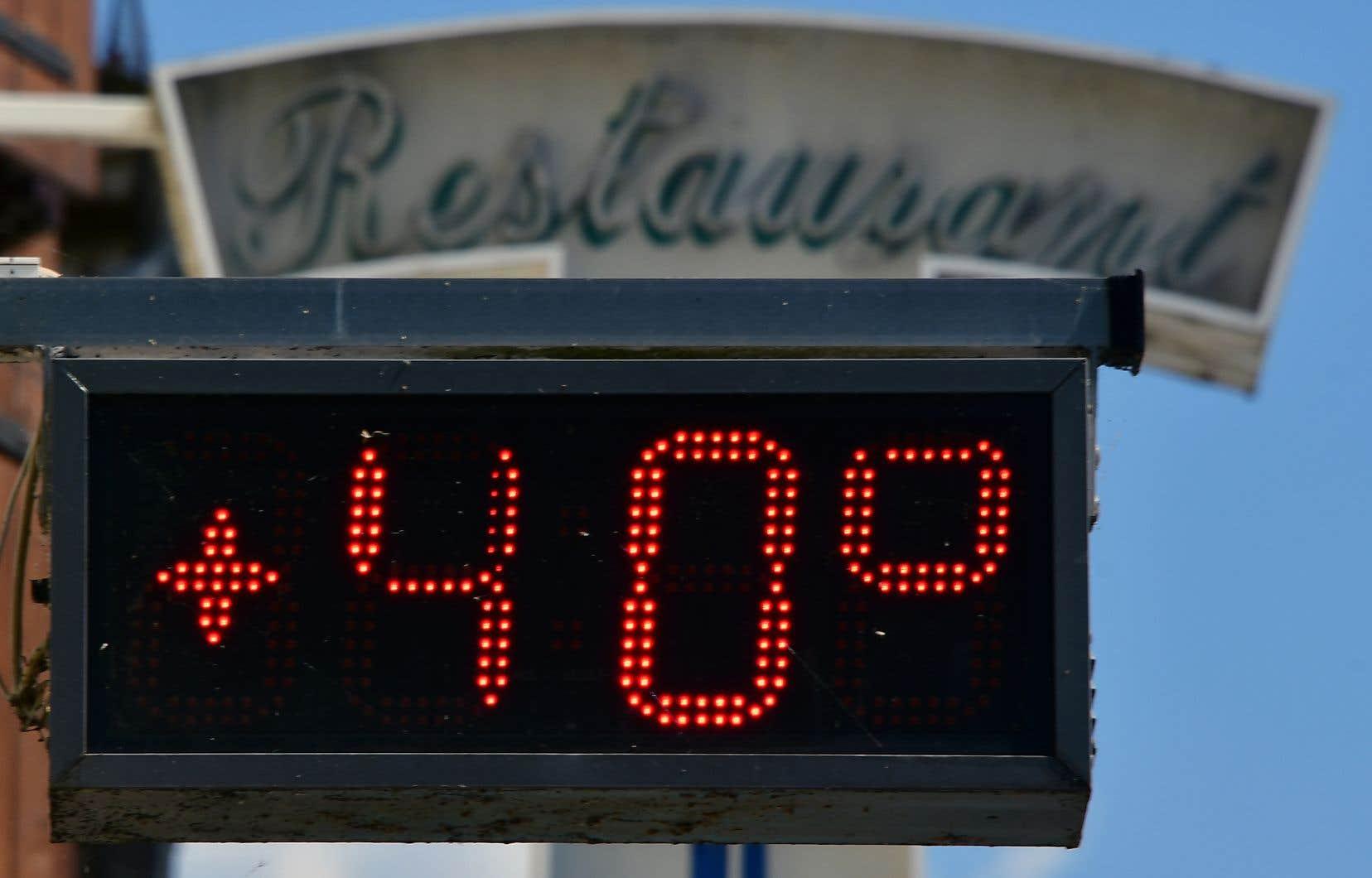 Les trois dernières années ont déjà été les plus chaudes jamais enregistrées.