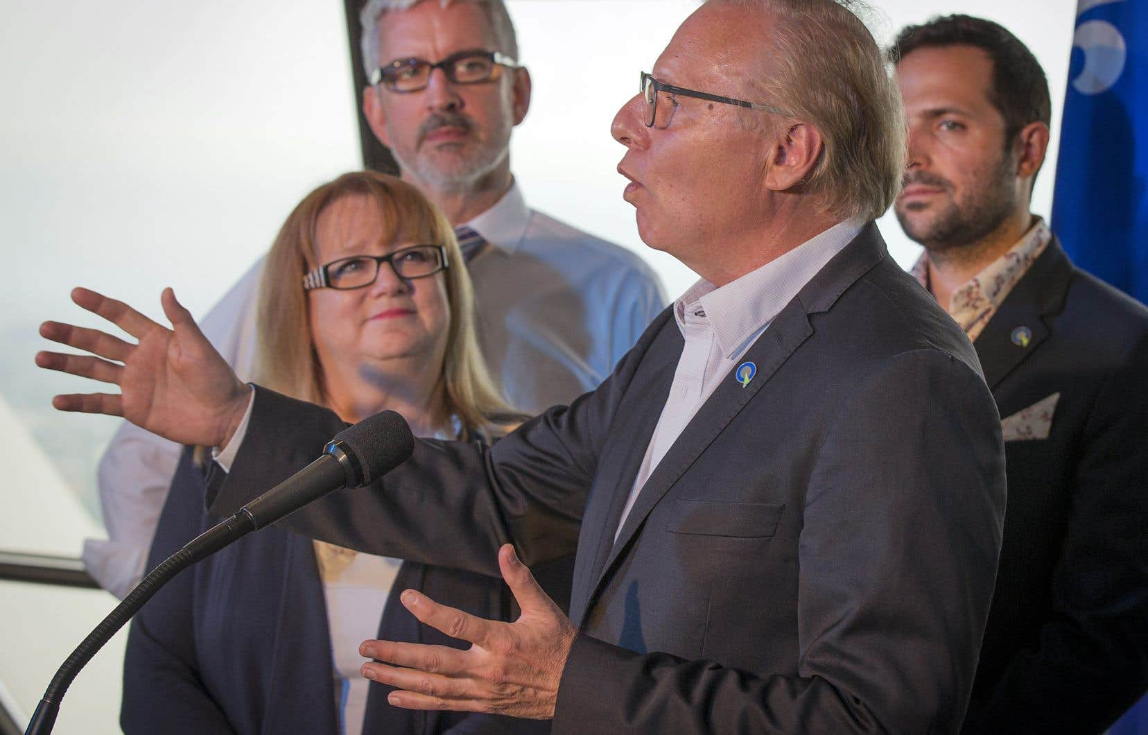 Jean-François Lisée a lancé mercredi sa précampagne électorale dans l'est de Montréal.