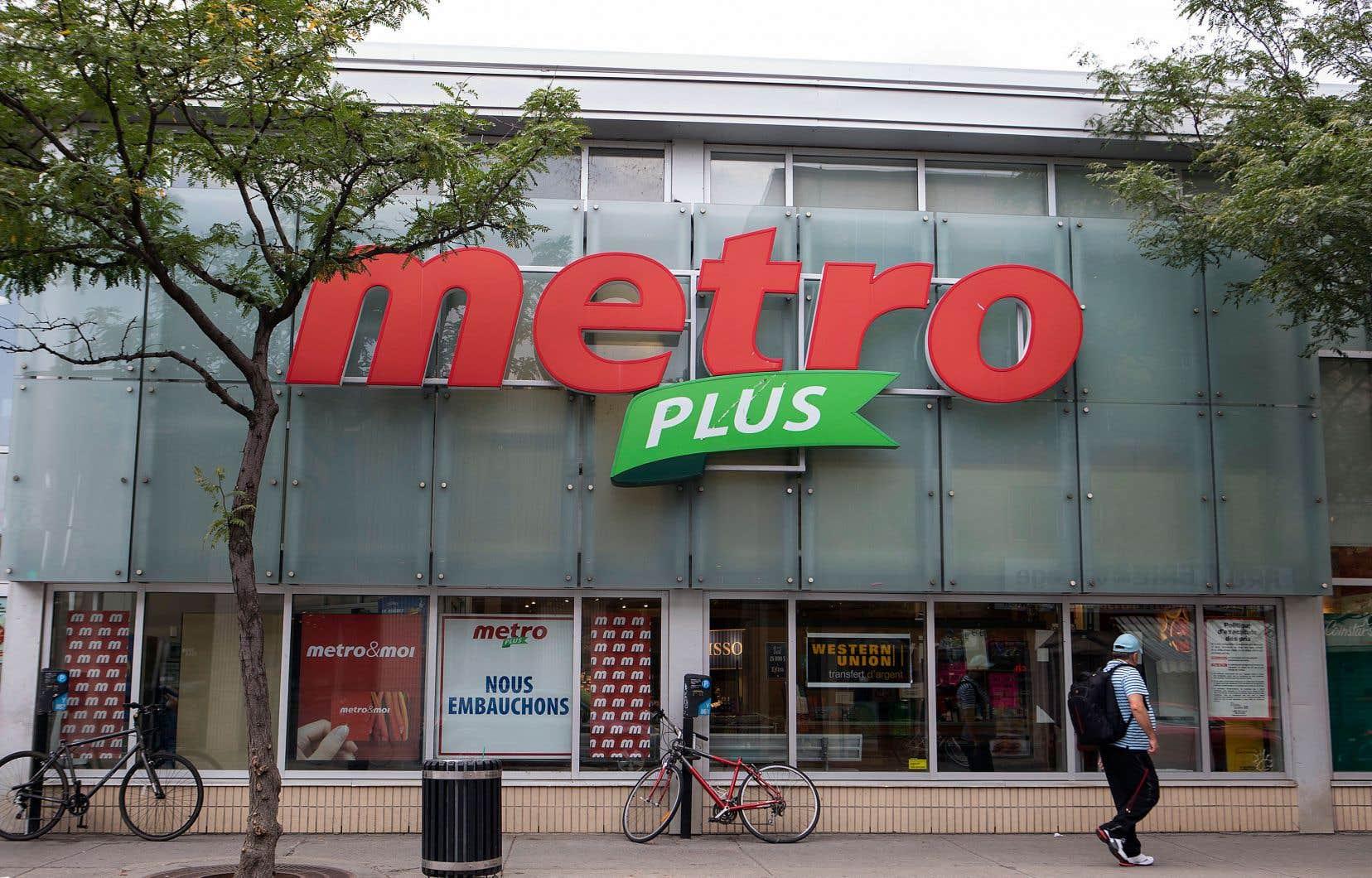 Metro a dévoilé mercredi des profits plus faibles que prévu au dernier trimestre.