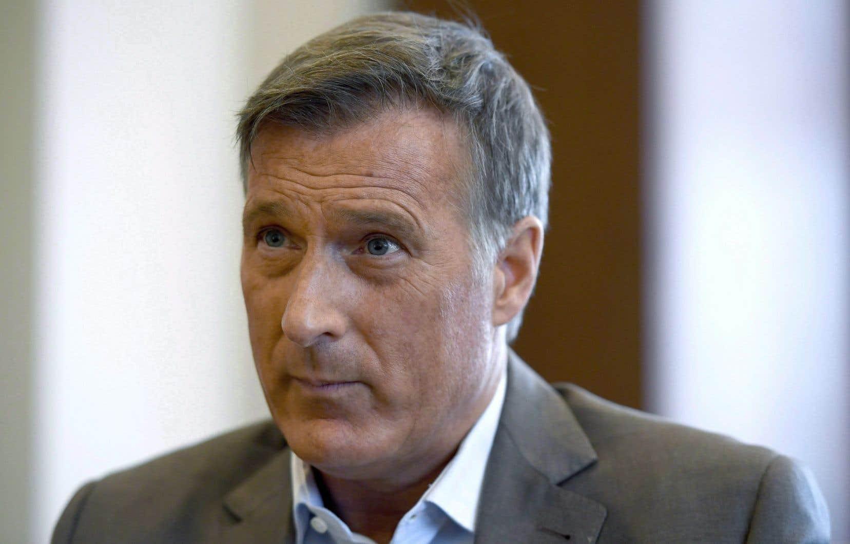 «La politique identitaire est devenue omniprésente et est pratiquée par tous les partis qui tentent ainsi d'acheter des votes», affirme Maxime Bernier.