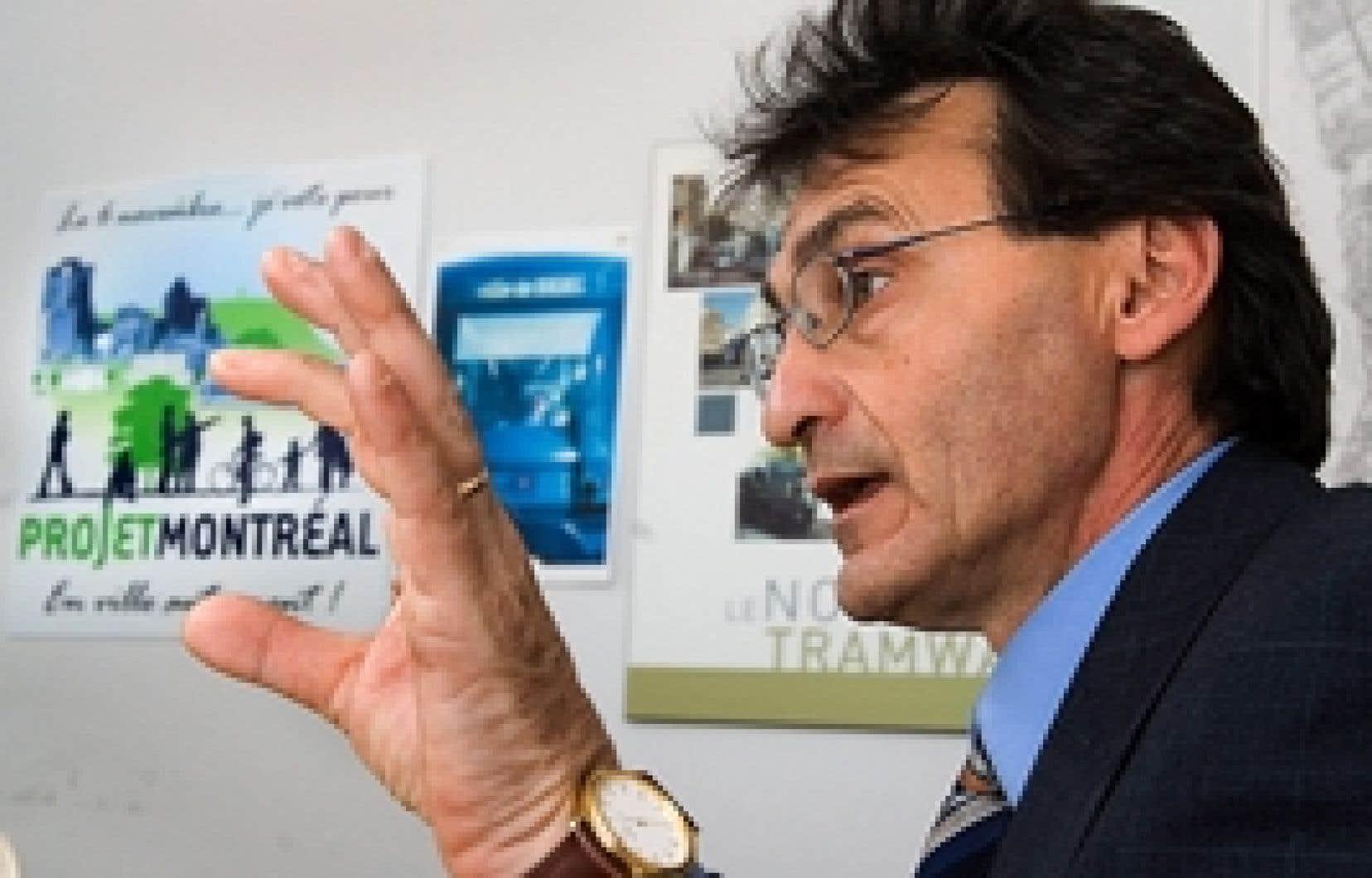 Certains membres de Projet Montréal vont jusqu'à remettre en question le leadership de Richard Bergeron.