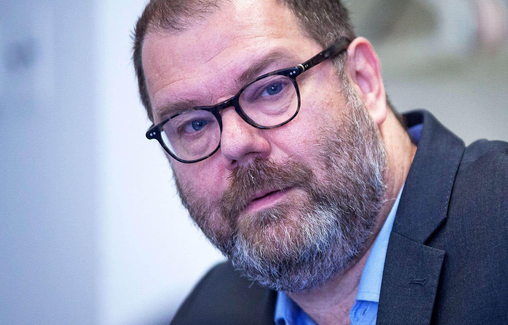 Mario Beaulieu, l'actuel chef par intérim (notre photo), a cédé samedi ses fonctions de président du parti à Yves Perron.