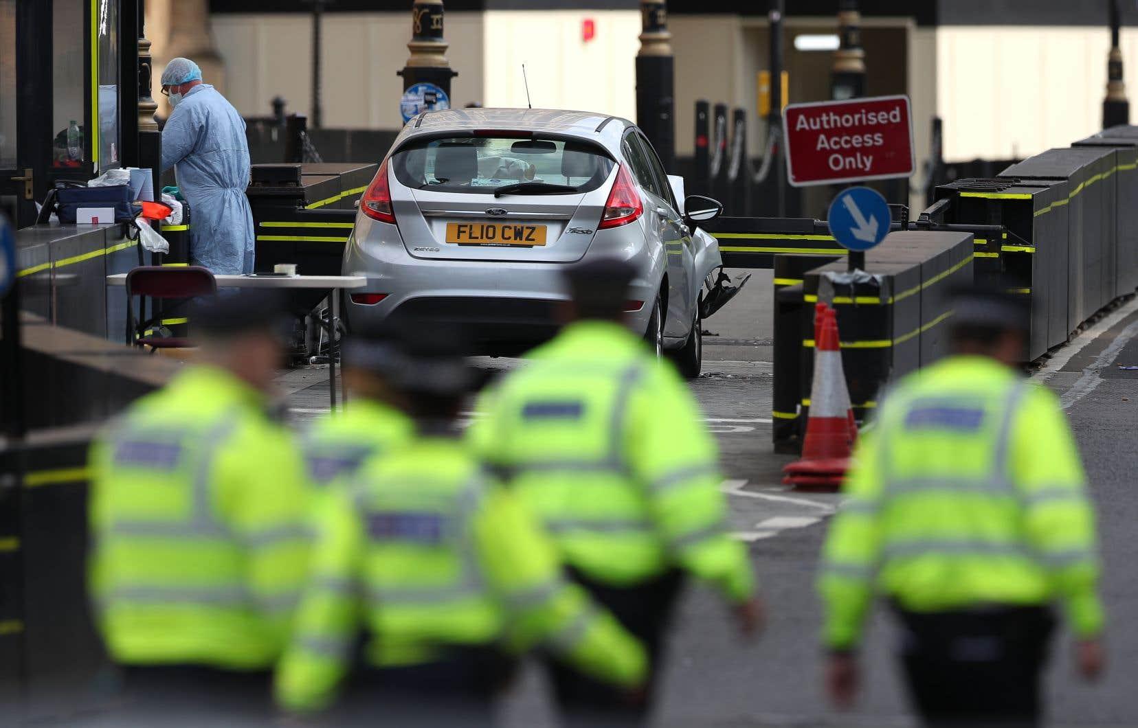 Le suspect Salih Khater est accusé d'avoir précipité son véhicule sur des cyclistes et des policiers.