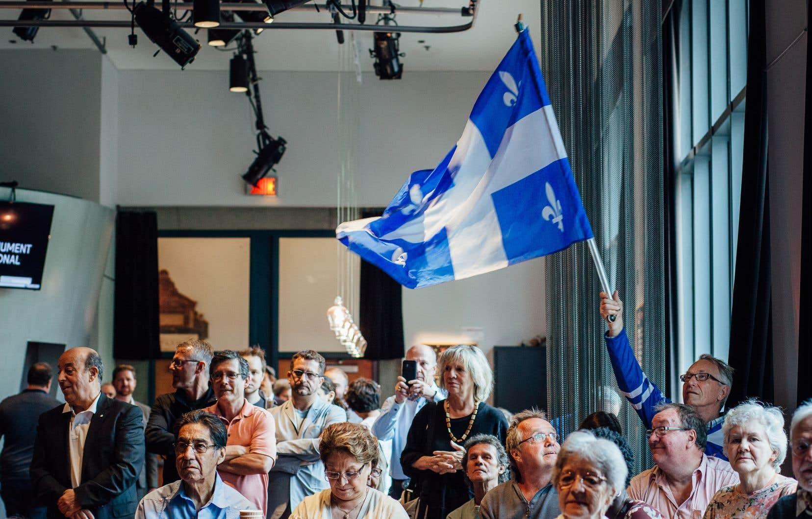 Des militants du Bloc québécois