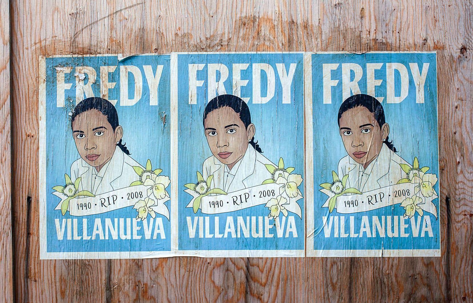 Fredy Villanueva est mort lors d'une interpellation policière en 2008.