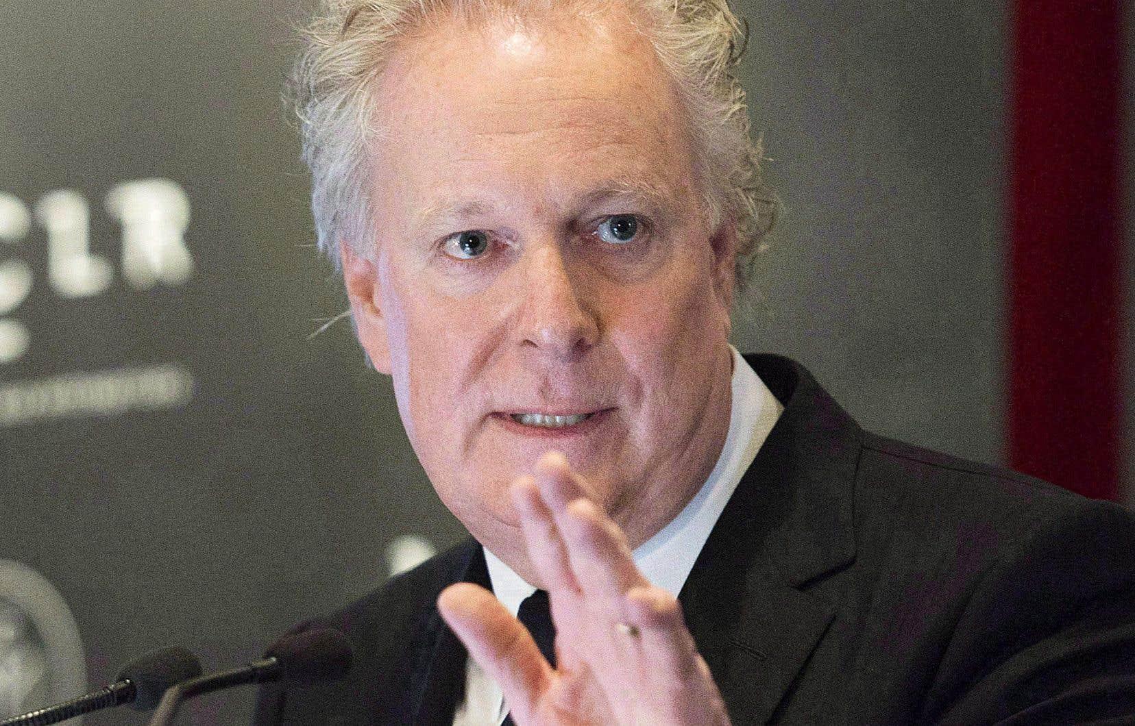 L'ex-premier ministre du Québec, Jean Charest
