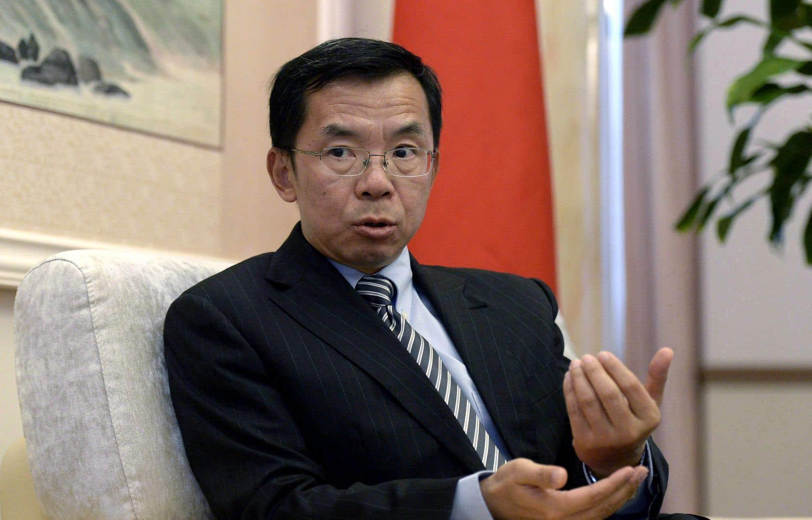 L'ambassadeur de Chine au Canada, Lu Shaye, a déclaré lundi que son pays espérait progresser sur la voie d'accords de libre-échange, notamment avec le Canada.