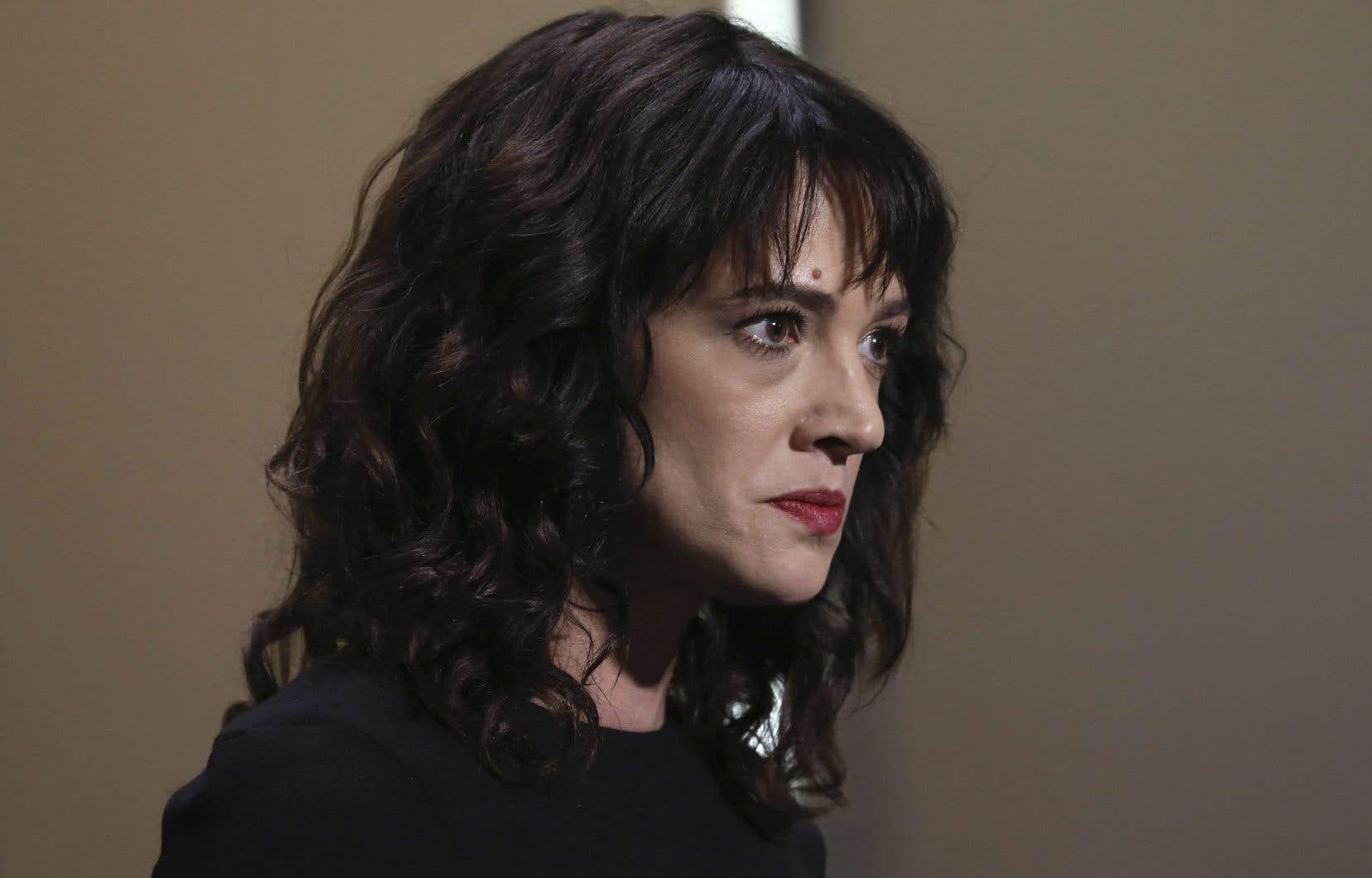 L'actrice italienne Asia Argentose dit victime de «persécution».