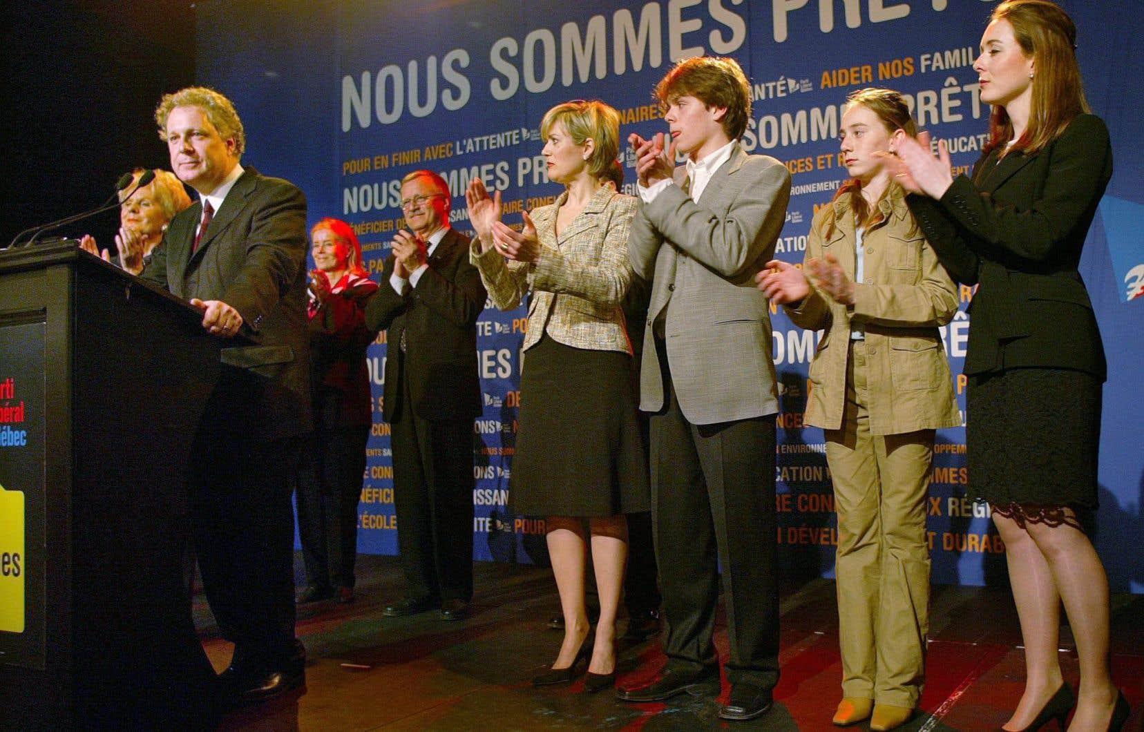 Pour Hugues Chandonnet, le «Maintenant» de la CAQ est l'équivalent du «Nous sommes prêts» adopté par Jean Charest en 2003.