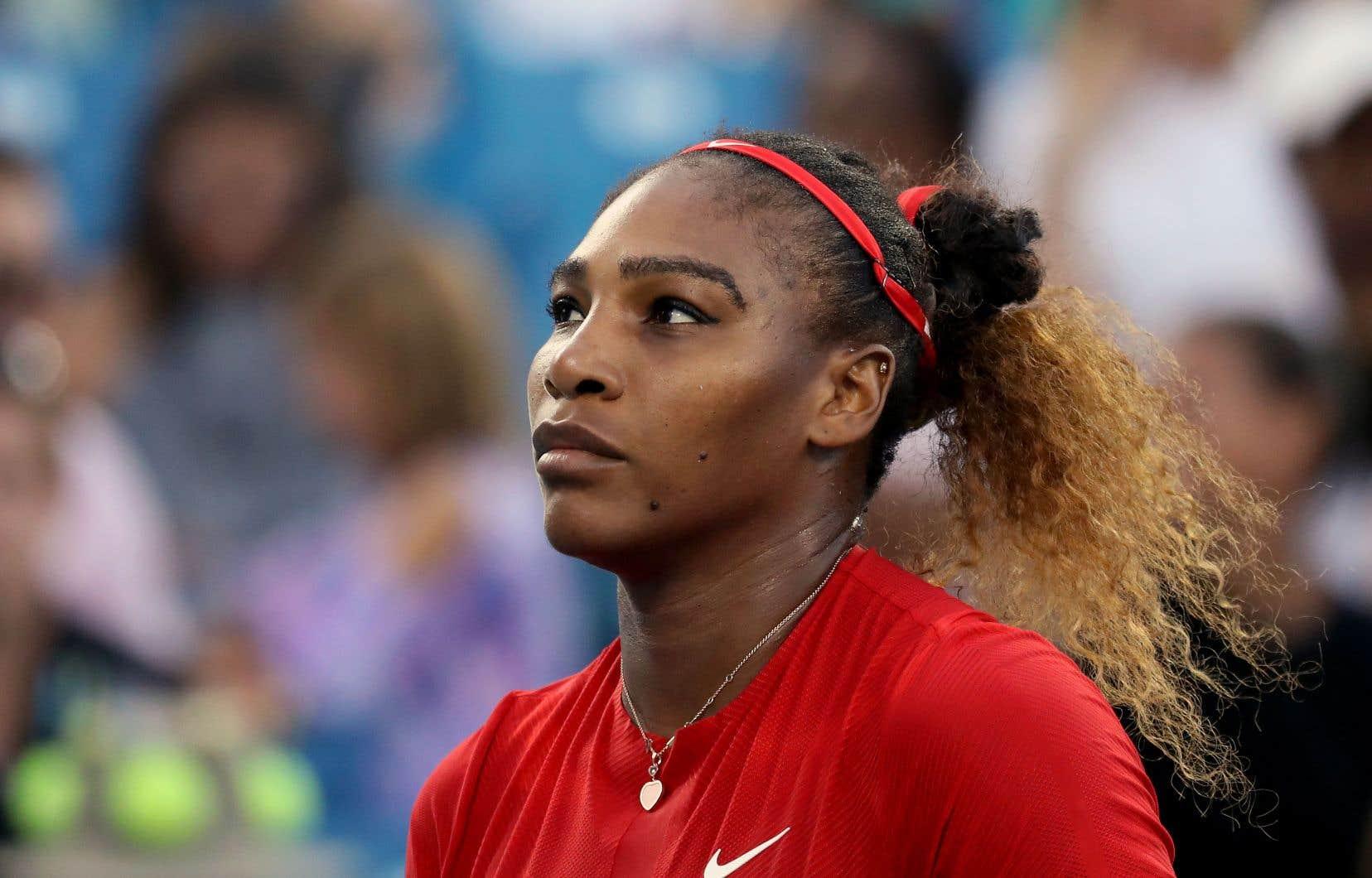 Classée au 26erang du classement mondial, Serena Williams a été promue 17etête de série des Internationaux de tennis des États-Unis par l'Association américaine.