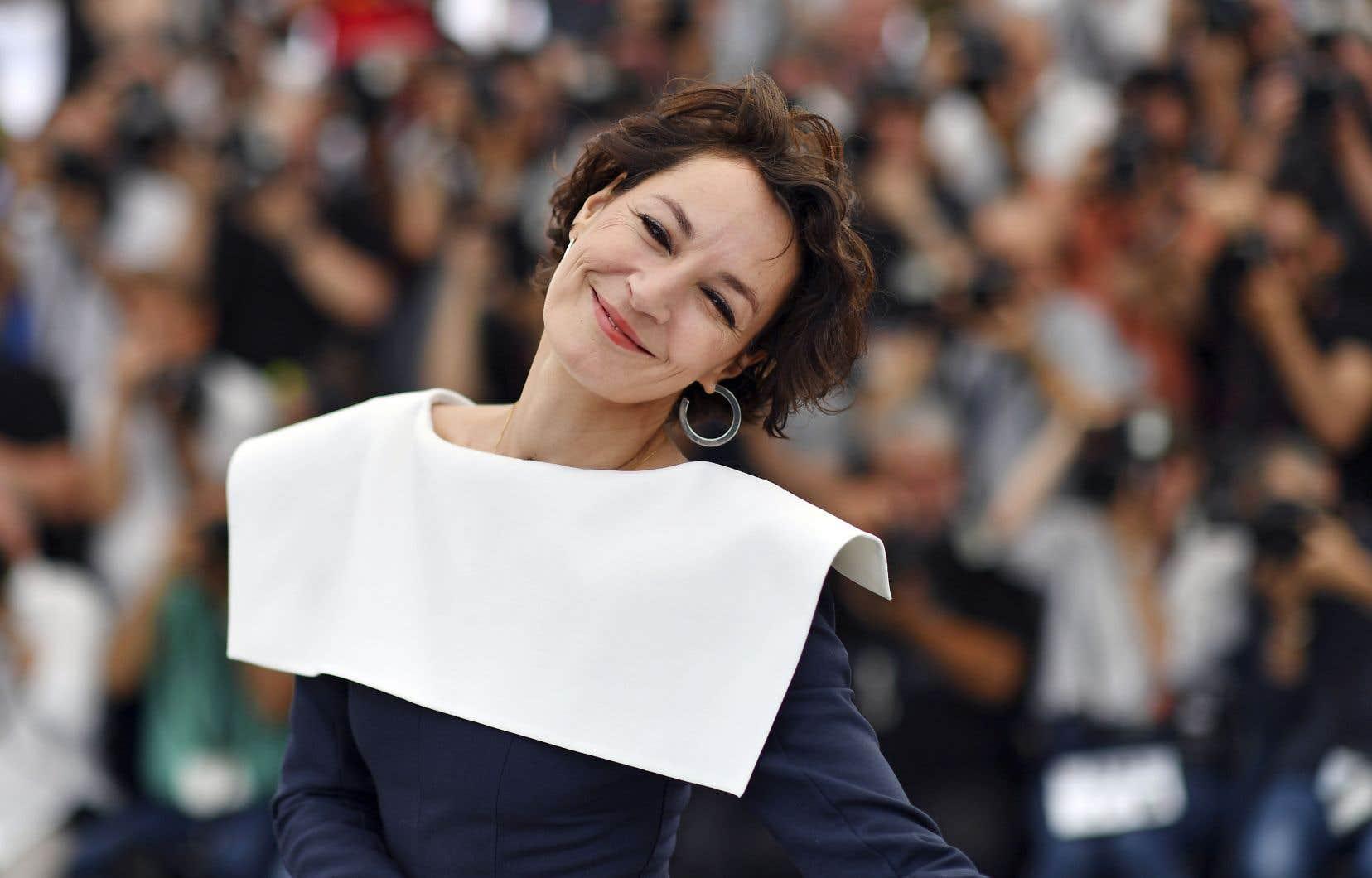 Jeanne Balibar l'actrice lors de la présentation du film «Barbara» au Festival de Cannes en 2017
