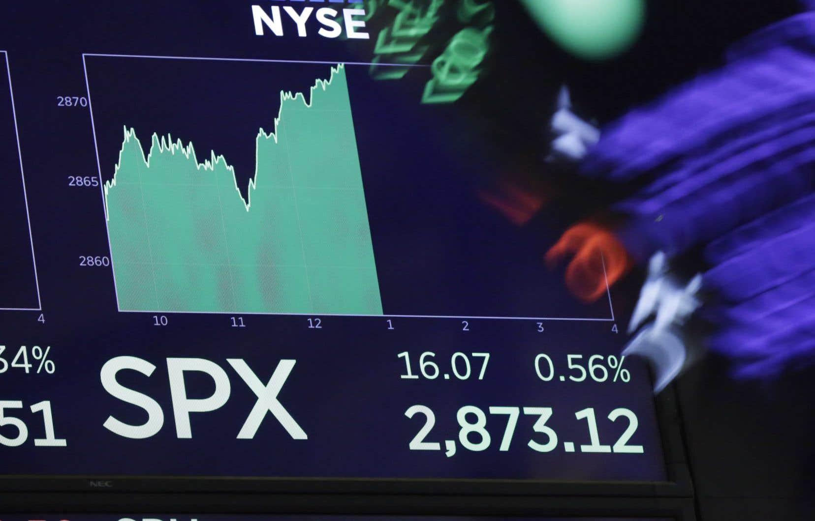 Ponctuée de pauses, de légers reculs et de petites remontées, cette période de croissance de la Bourse américaine est loin d'être la plus forte de son histoire.