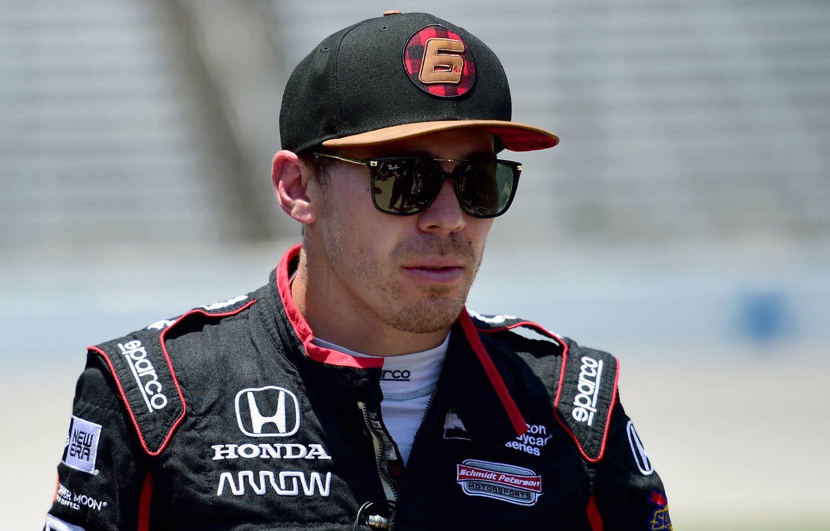 Wickens a terminé neuvième aux 500 miles d'Indianapolis.