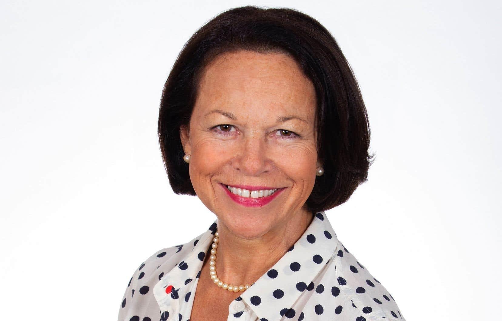 La présidente-directrice générale du CHUQ, Gertrude Bourdon