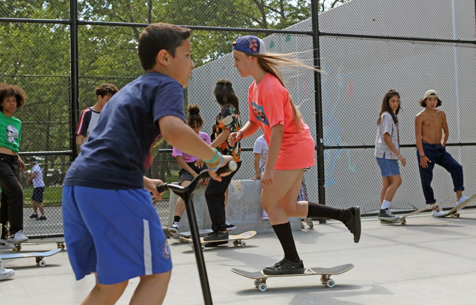 «Skate Kitchen» offre une incursion sincère et passionnante dans la culture du skate.<br />