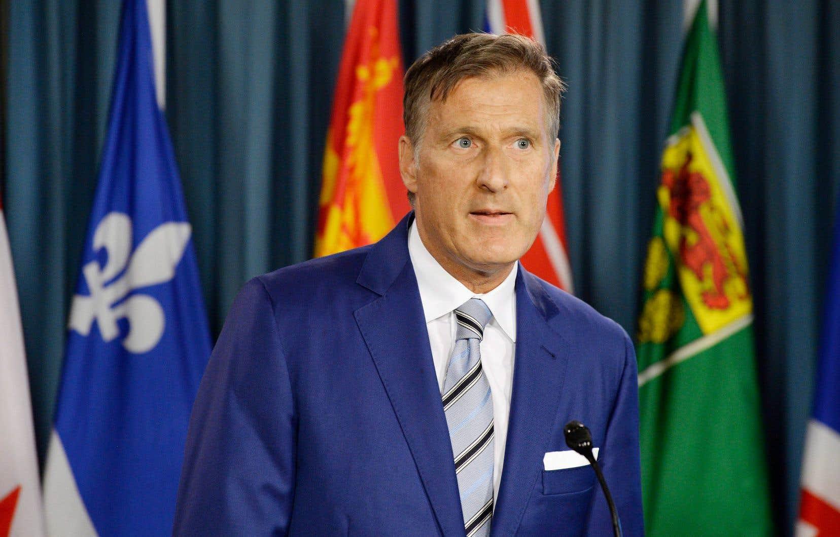 Maxime Bernier a annoncé avec fracas sa démission du Parti conservateur.