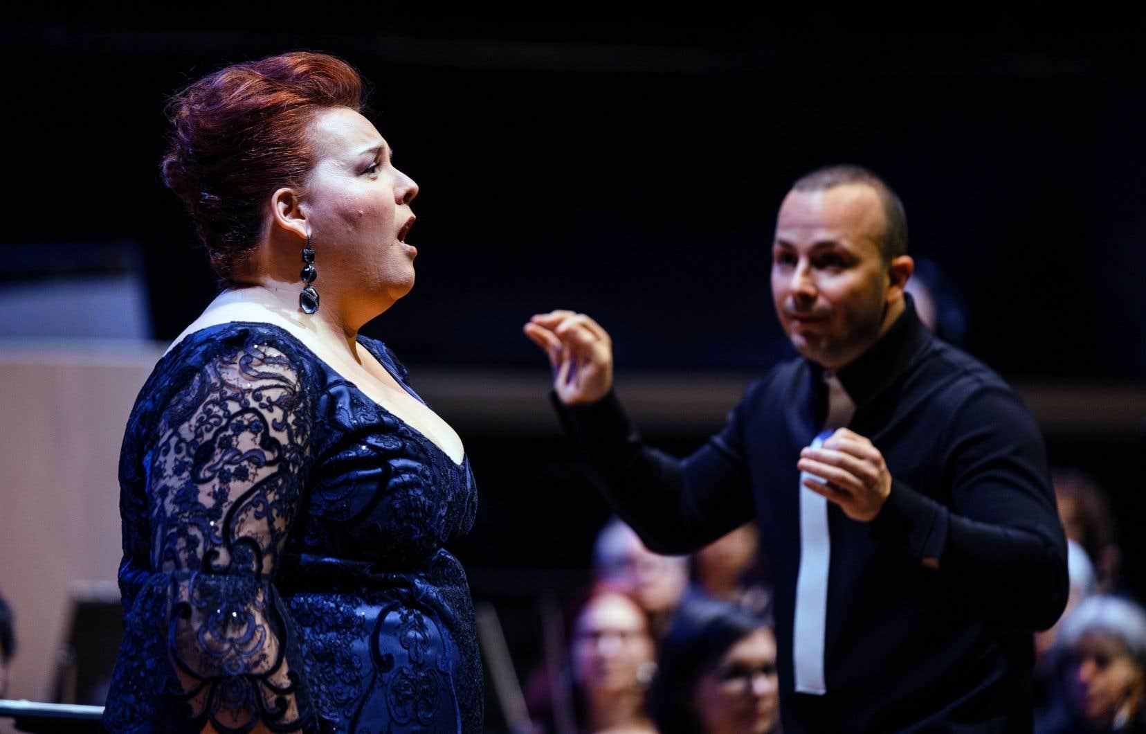 L'Orchestre symphonique de Québec propose le Mahler de la grande dame d'ici Nicole Lemieux.