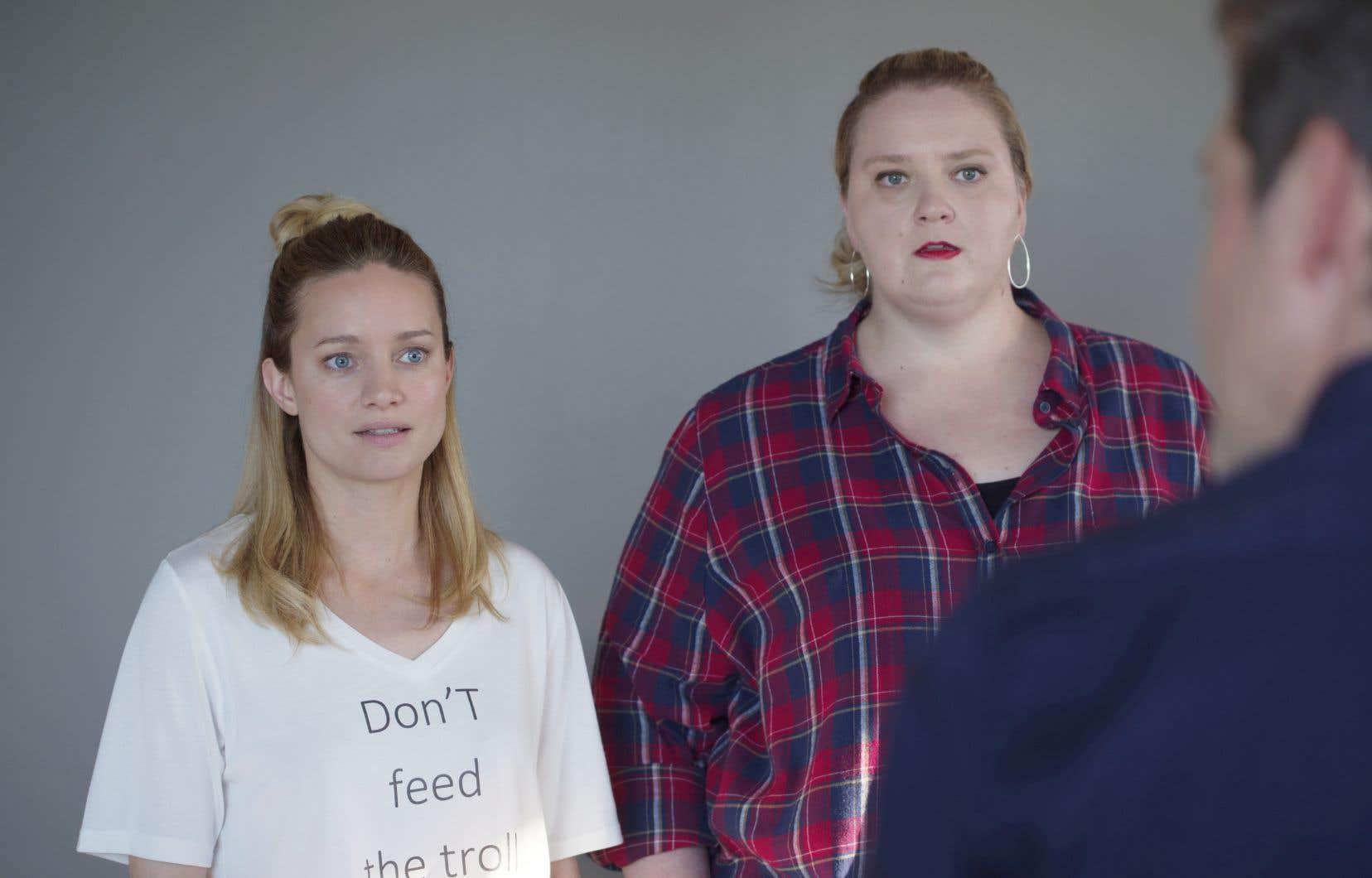 Scène tirée de la série télévisée «Le jeu»