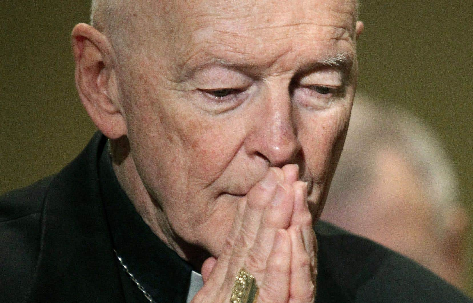 L'ex-cardinal Theodore McCarrick en 2011