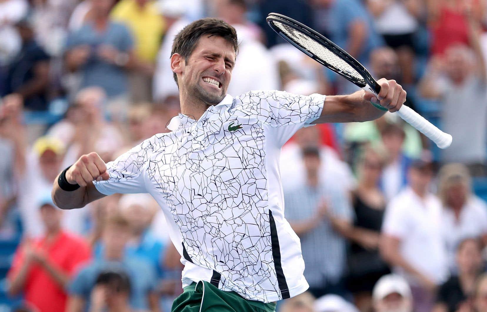 Depuis Roland-Garros, Novak Djokovic n'a perdu que deux matchs.