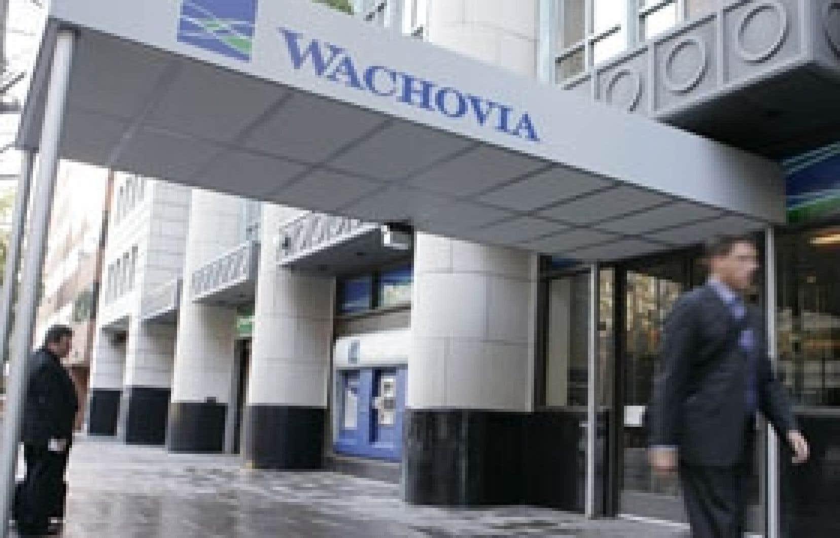 L'acquisition de Wachovia par sa concurrente Wells Fargo est suspendue par la justice, à la suite de la demande du conglomérat financier américain Citigroup.