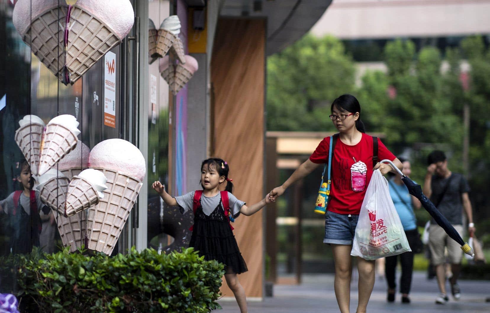 Les femmes chinoises repoussent de façon croissante l'âge auquel elles ont leur premier bébé, notamment parce qu'elles entendent d'abord privilégier leur carrière professionnelle.