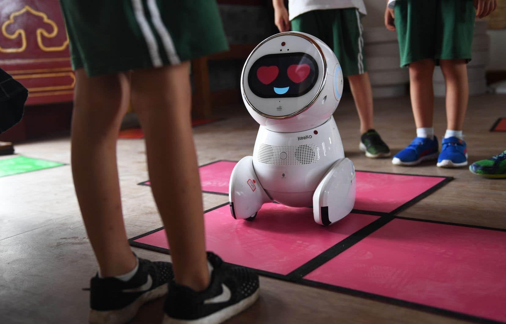 Keeko est déjà utilisé dans 600 écoles maternelles de Chine.