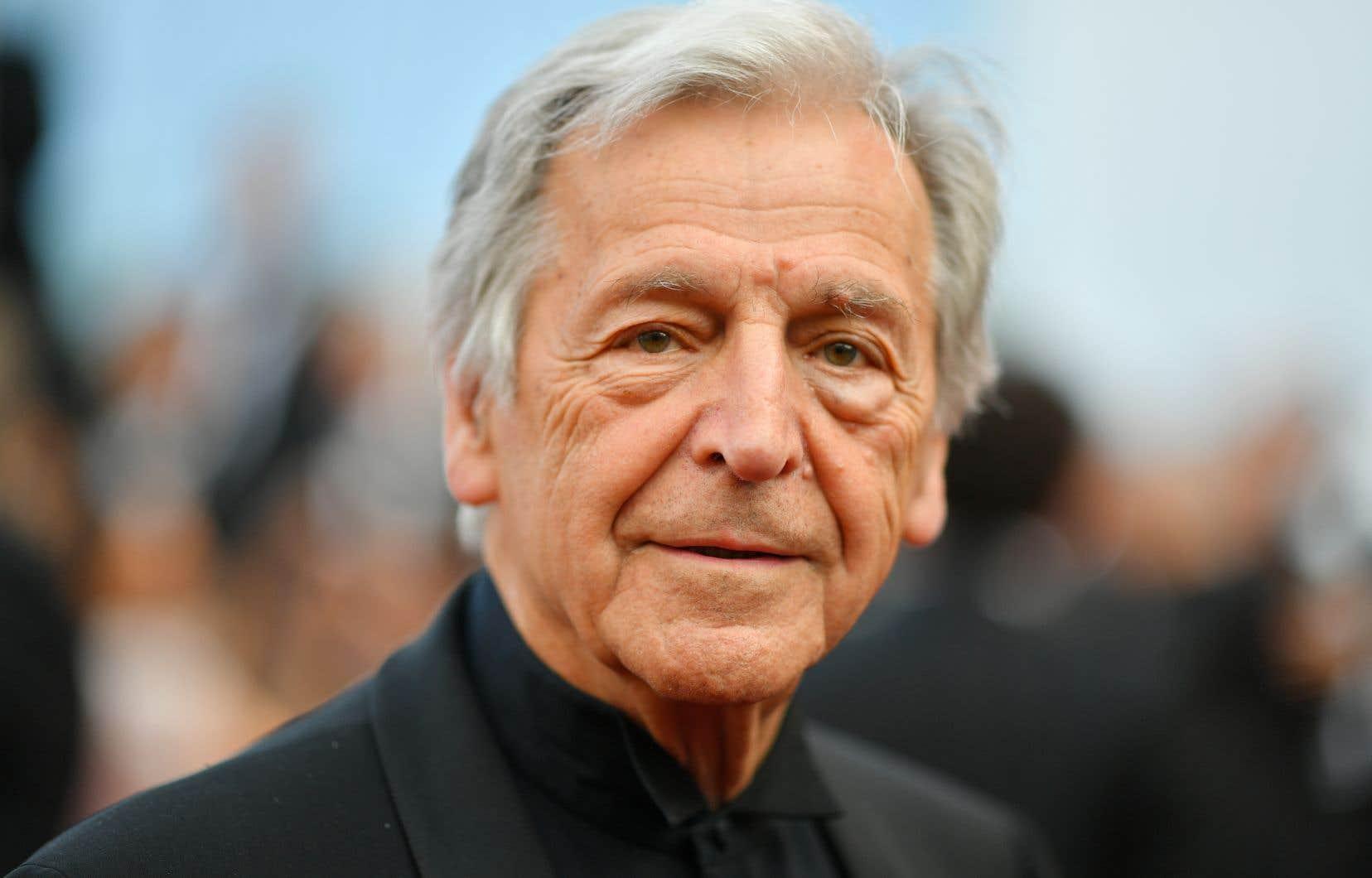 Costa-Gavras au Festival de Cannes en 2017