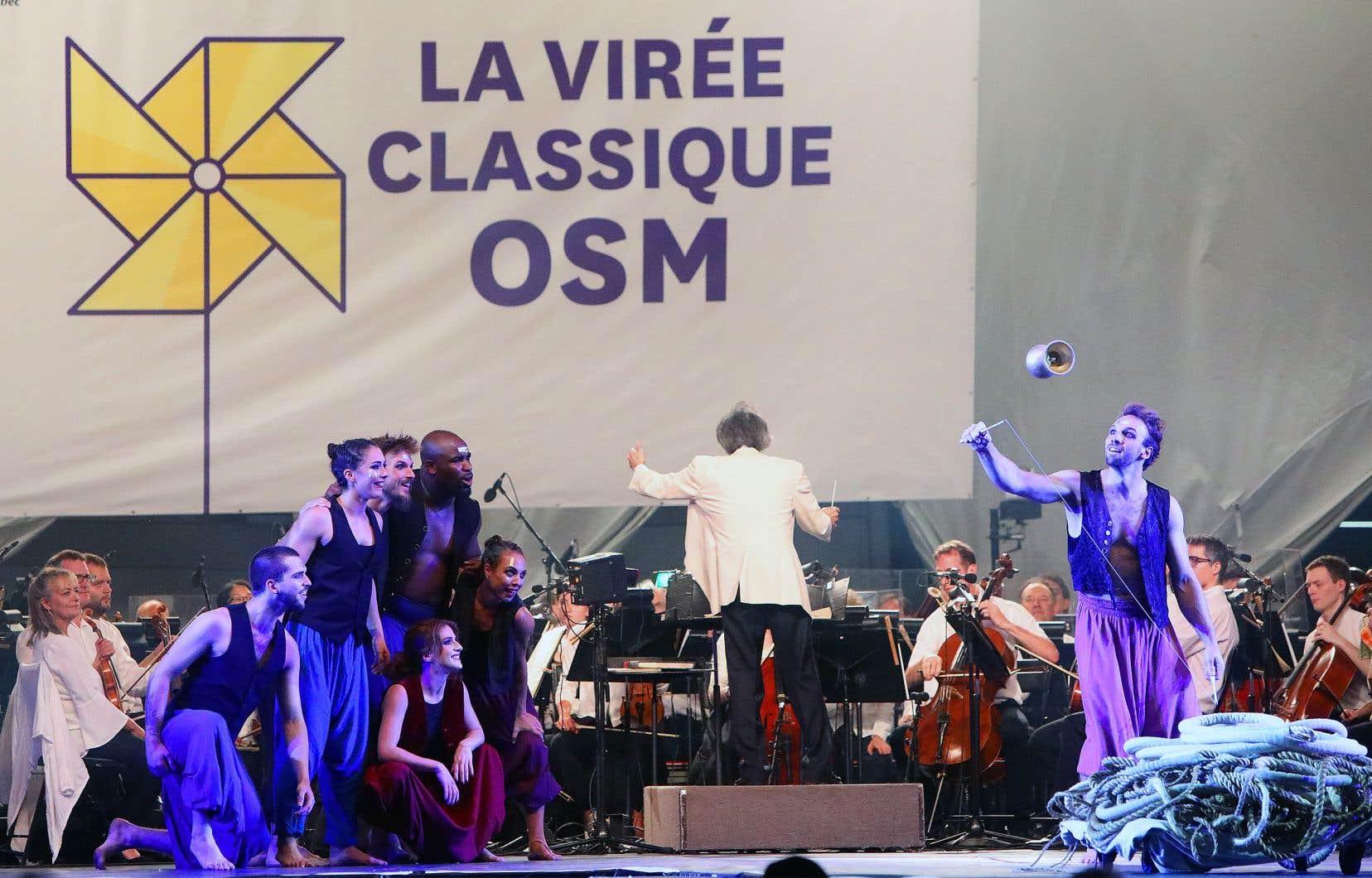 L'OSM et ses invités investissent la Place des Arts dès17 heures vendredi pour la 7eVirée classique.