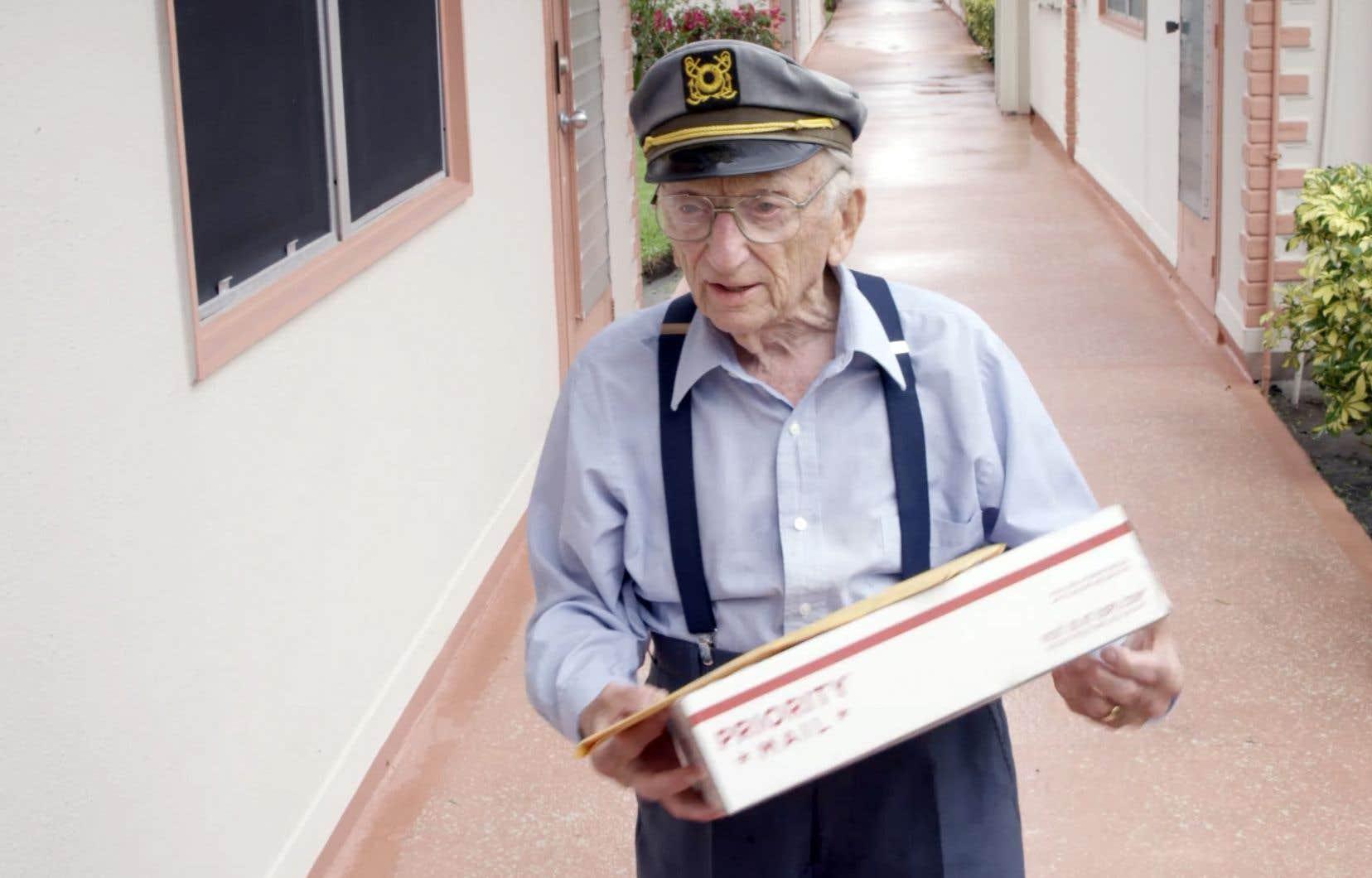 L'avocat Benjamin Ferencz, 98 ans, a été le procureur en chef lors du procès de Nuremberg.